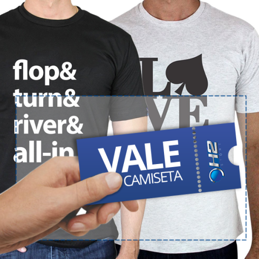 Vale 1 Camiseta H2 - Foto 1