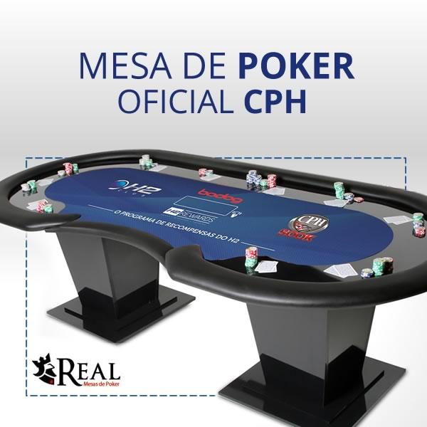1 Mesa de Poker Oficial CPH 10 Jogadores - Foto 1