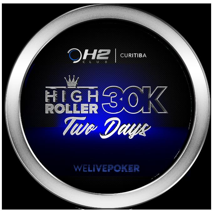 Buy In High Roller Two Day - Curitiba - 30K GTD - Foto 3
